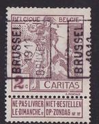 Brussel 1911  Nr. 1734A - Rollo De Sellos 1910-19