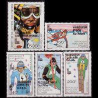 CONGO PR. 1980 - Scott# C266-70 Olympics Winners Set Of 5 MNH - Neufs