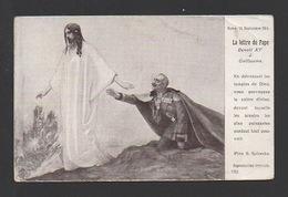 DF / GUERRE 1914 - 18 / LA LETTRE DU PAPE BENOIT XV À GUILLAUME EN SEPTEMBRE 1914 - Weltkrieg 1914-18