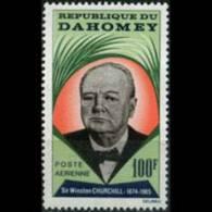 DAHOMEY 1965 - Scott# C28 Churchill Set Of 1 MNH