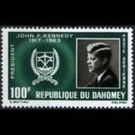DAHOMEY 1965 - Scott# C30 Kennedy Set Of 1 MNH