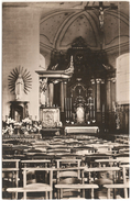 Leerbeek - Kerk Binnenzicht - Echte Photo - Uitgave E.D.W. Kester - Gooik