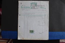 Fac-21 / Spa - ( Liège )   Imprimerie Ed. Jérôme  / 1969 - Imprimerie & Papeterie