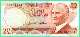 20 Lirasi - Turquie - 1970 - N°. 662801494 - Neuf - - Turkey