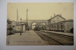 CPA 94 VAL DE MARNE ARCUEIL. La Gare. - Arcueil