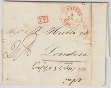 """1840, """" ANVERS """" Rare """" PF """" , #7090 - 1830-1849 (Belgique Indépendante)"""