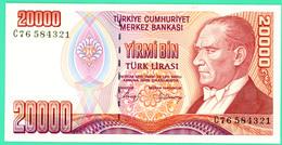 2000 Lirasi - Yirmi Bin - Turquie - 1970 - N°. C76584321 - Neuf - - Turkey