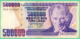 500 000 Lirasi - Besyüz  - Turquie - 1970 - N°. H31 290887- TB+ - - Turquie
