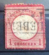 Deutsches Reich: Freimarken: Adler Mit Großem Brustschild (Michel 19) - Deutschland