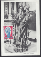 "BELGIQUE - Carte Maximum "" Arlon - La Reine De La Paix "" Cachet Bruxelles 29-4-1959 - 2 Scans -  B/TB - - Maximumkarten (MC)"