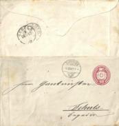 Tübli Brief 5  Zofingen - Chur - Schuls             1867 - Ganzsachen