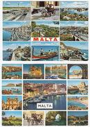 2 Postcards Of MALTA - Multiview - (Malta) - (3) - Malta