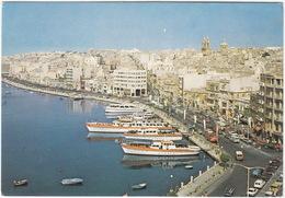 Sliema - The Strand: 'Sunsea' Boats & 'COCA-COLA' Truck - (Malta) - Malta