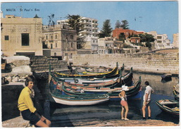 St Paul's Bay - Typical Boats - (Malta) - Malta