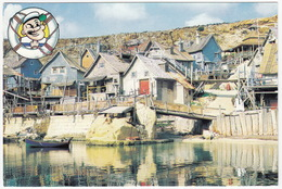 Sweethaven Village, The POPEYE FILM SET At Anchor Bay  - (Malta) - Malta