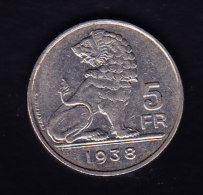 BELGIUM Cat Morin 454a SUP,  (B275) - 06. 5 Franchi