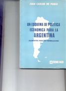 UN ESQUEMA DE POLITICA ECONOMICA PARA LA ARGENTINA (ELEMENTOS PARA SU FORMULACION) LIBRO AUTOR JUAN CARLOS DE PABLO - Economie & Business