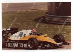 RENAULT RE40 - PILOTA EDDIE CHEEVER - FOTO ORIGINALE DEL 1982 (FORMULA 1) - Automobile - F1