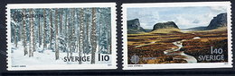 SWEDEN 1977 Europa: Landscapes MNH / **.  Michel 989-90 - Sweden
