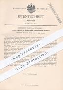 Original Patent - H. Daut , Nürnberg , 1892, Wasser - Ringelspiel Mit Wellenförmiger Führungsbahn , Karussell , Carousel - Historische Dokumente