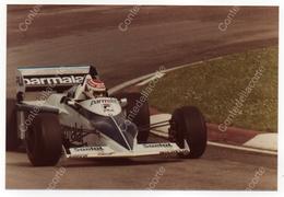 BRABHAM BT50 - PILOTA NELSON PIQUET - FOTO ORIGINALE DEL 1982 (FORMULA 1) - Automobile - F1