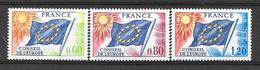 "France ""Service""  N° 46 à 48 ** (cote 7,50 €) - Neufs"
