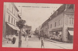 Héricourt --  Grande Rue - France