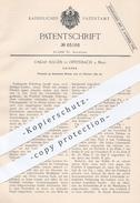 Original Patent - Oskar Hagen , Offenbach / Main , 1892 , Leisten Für Schuhe | Schuhwerk , Schuh , Schuster , Stiefel !! - Historische Dokumente