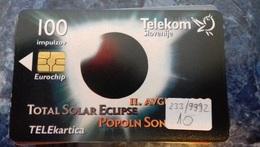 SLOVENIA - TOTAL SOLAR ECLIPSE - Slovénie