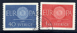 SWEDEN 1960 Europa Set Used  Michel 463-64 - Sweden