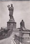 43-----LE PUY---les Statues De Notre-dame De France Et De Mgr De Morlhon En Grandeur Naturelle---voir 2 Scans - Le Puy En Velay
