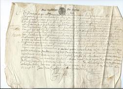 1687-Généralité De Paris-Vélin - Manuscrits
