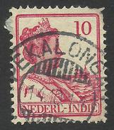 Netherlands Indies, 10 C. 1914, Sc # 117, Used - Netherlands Indies