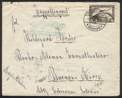 Cover Sent By ZEPPELIN From Friedrichshafen To Buenos Aires On 17/OC/1931, Franked By Sc.C37 With Cancel Of... - Germany