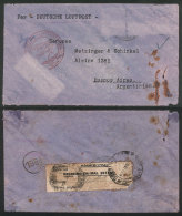 PLANE CRASH: Cover Sent To Buenos Aires By Airplane Dornier Tapajoz, Which Crashed On 3/MAY/1934 While It Landed In... - Germany