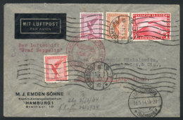 Cover Sent By ZEPPELIN From Hamburg To Buenos Aires On 25/MAY/1934, Franked With 1.75Mk., With Friedrichshafen... - Germany