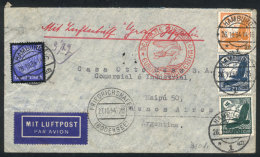 Cover Flown By Zeppelin, Sent From Hamburg To Buenos Aires On 26/OC/1934, Friedrichshafen Transit Mark Of 27/OC,... - Germany