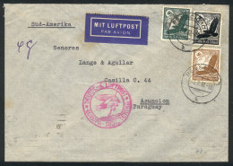 Airmail Cover Sent From Remscheid To PARAGUAY On 7/FE/1938, Fine Quality! - Germany