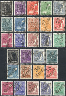 Very Interesting Group Of 8 Sets With Varied Overprints, In General Unmounted And Of Excellent Quality! - Germany