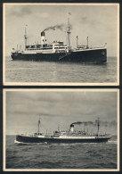 "Ships ""Antonio Delfino"" And ""General Artigas"", Circa 1937/8, Fine Quality, Very Nice Views! - Germany"