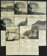 Ship CAP POLONIO: 8 Handsome Menus (lunch), Dated Between 11/NO And 20/NO/1922, Almost All Of VF Quality, Very Good... - Germany