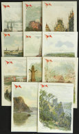 Ship CAP POLONIO: 11 Handsome Menus (dinner), Dated Between 12/NO And 26/NO/1922, Almost All Of VF Quality, One... - Germany