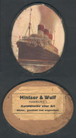 Ship CAP POLONIO: Reproduction With View Of The Ship On A Medallion, Very Nice, VF! - Germany