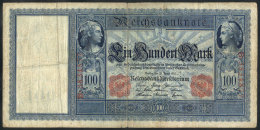 Old Banknote Of 100Mk., Fine Quality, Very Nice! - Germany