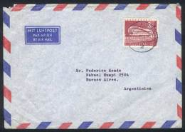Cover Franked With Michel 154 ALONE, Sent To Argentina On 22/FE/1964, Rare. Michel Catalog Value Euros 430. - Unused Stamps