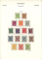 Collection On Pages (1949 To 1979, Almost Complete), Used Or Mint Stamps (without Gum, Lightly Hinged Or MNH), VERY... - [7] Federal Republic