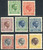 Sc.51/58, 1915 Christian X, Complete Set Of 8 Unmounted Values, Excellent Quality (only The Low Value Very Lightly... - Stamps