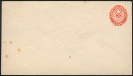 Unused 3c. Stationery Envelope, Fine Quality, Low Start. - Stamps