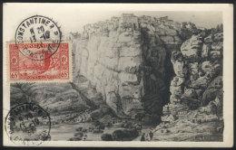 CONSTANTINE: General View Of 1837, Centenary, Maximum Card Of OC/1937, VF Quality - Algeria (1924-1962)