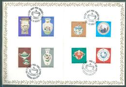 HUNGARY - STAMPS OF 1972  - SOUVENIR 15.4.1980 - Mi 2795-2802 Yv 2257-2264 - Lot 15126 - Feuillets Souvenir